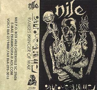 NILE - Ramses Bringer of War cover