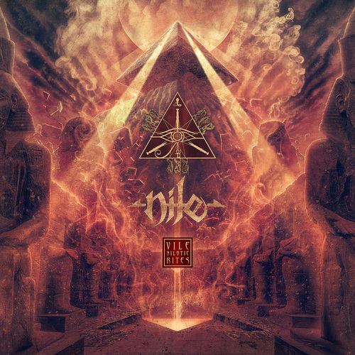 NILE - Vile Nilotic Rites cover