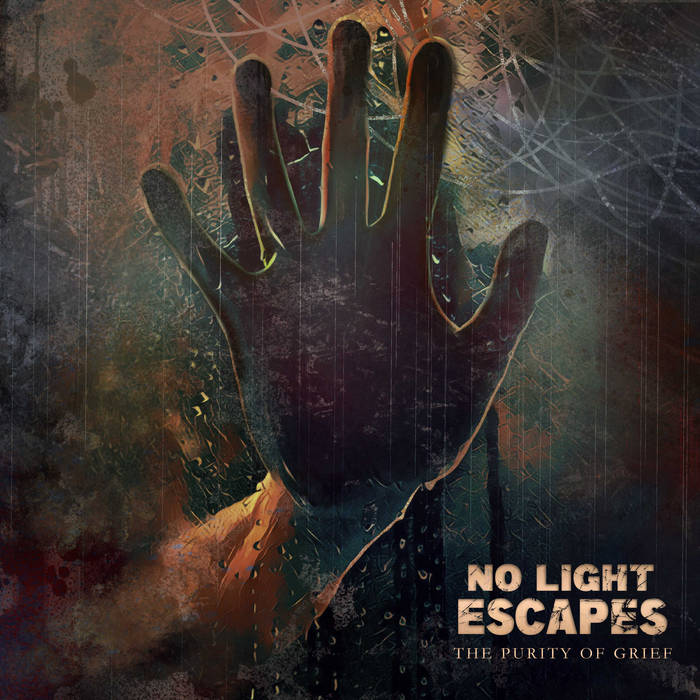 NO LIGHT ESCAPES - The Purity Of Grief cover