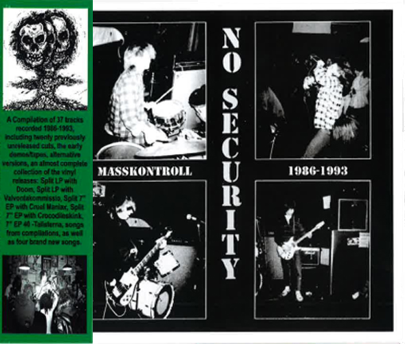 NO SECURITY - Masskontroll 1986-1993 cover