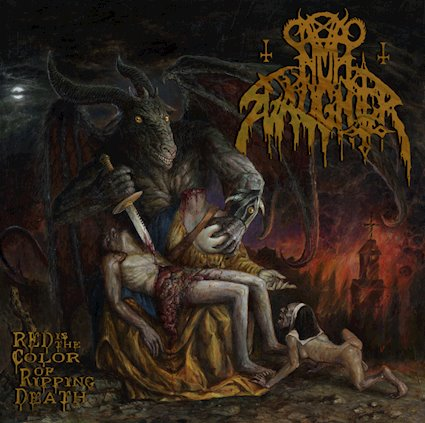 NUNSLAUGHTER - Red is the Color of Ripping Death cover