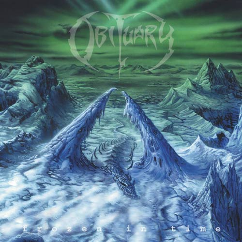 OBITUARY - Frozen in Time cover