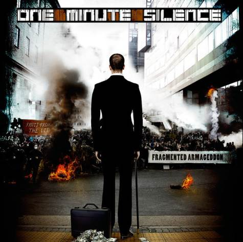 ONE MINUTE SILENCE - Fragmented Armageddon cover