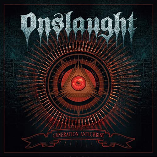 ONSLAUGHT - Generation Antichrist cover