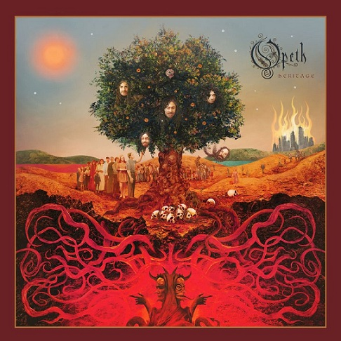 OPETH - Heritage cover