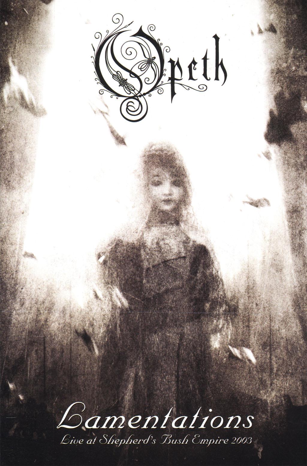 OPETH - Lamentations, Live At Shepherd's Bush Empire, 2003 cover