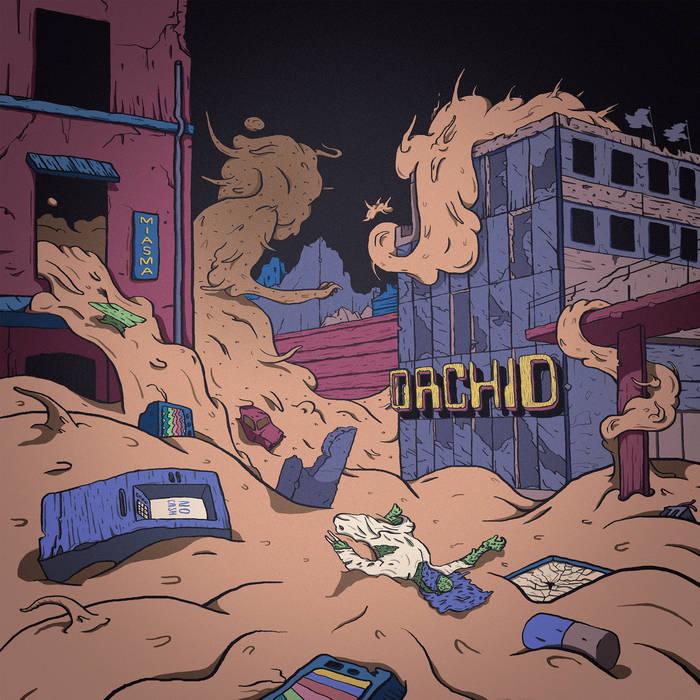 ORCHID - Miasma cover