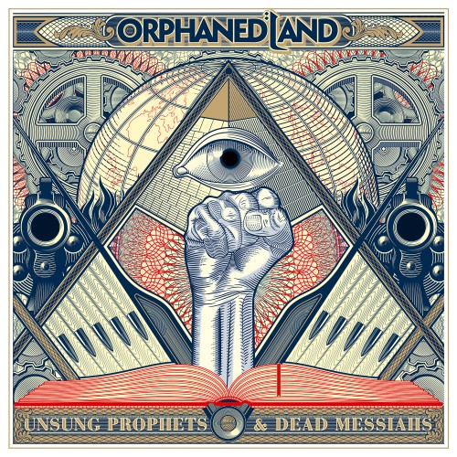 ORPHANED LAND - Unsung Prophets & Dead Messiahs cover