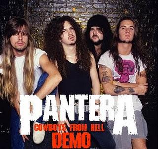 PANTERA Cowboys from Hell demos reviews