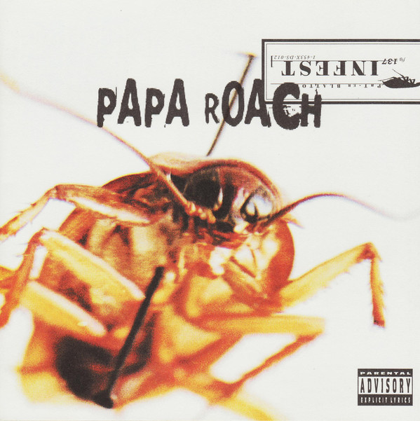 PAPA ROACH - Infest cover