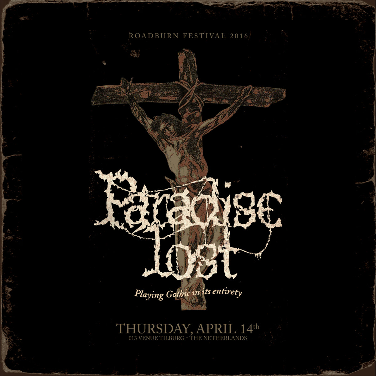 PARADISE LOST - Gothic - Live At Roadburn 2016 cover