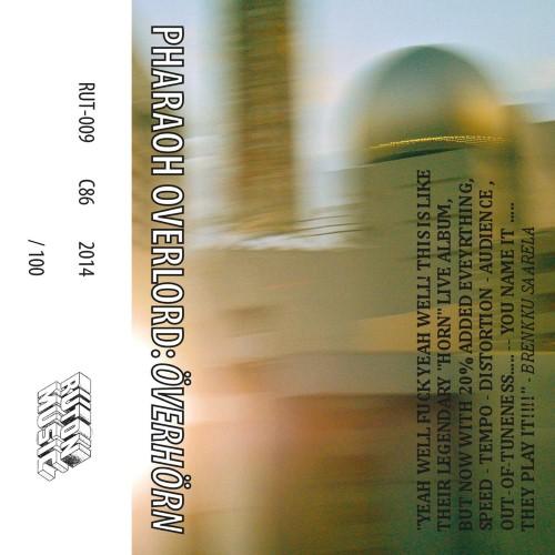PHARAOH OVERLORD - Överhörn cover