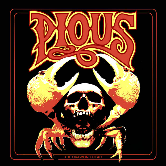 PIOUS - The Crawling Head cover
