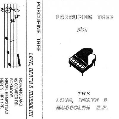 PORCUPINE TREE - Love, Death & Mussolini cover