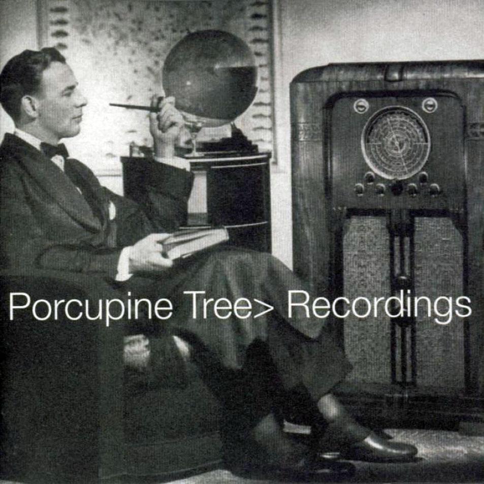 PORCUPINE TREE - Recordings cover