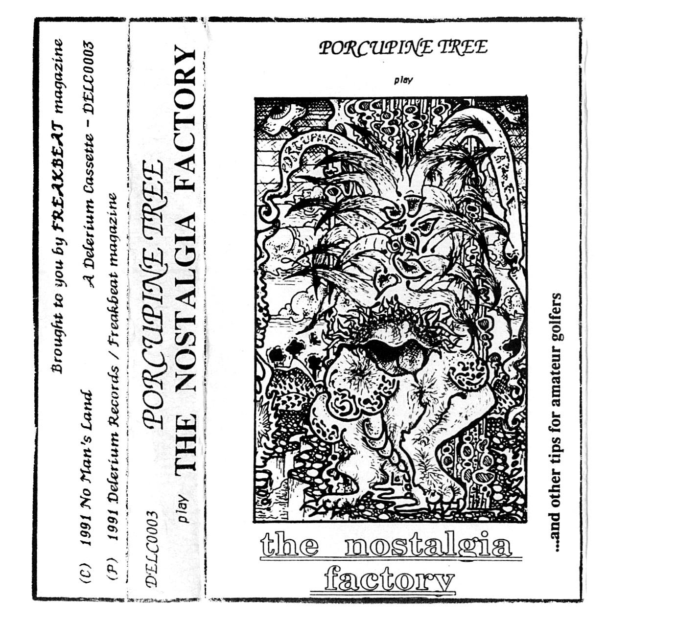 PORCUPINE TREE - The Nostalgia Factory cover