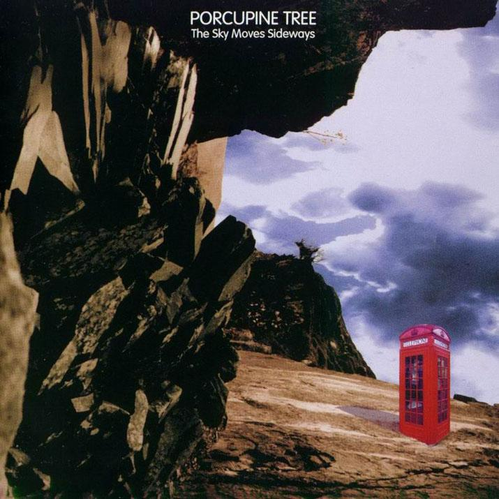 PORCUPINE TREE - The Sky Moves Sideways cover