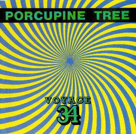 PORCUPINE TREE - Voyage 34 cover