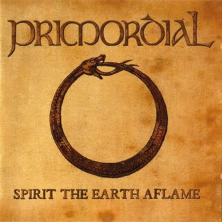 PRIMORDIAL - Spirit the Earth Aflame cover