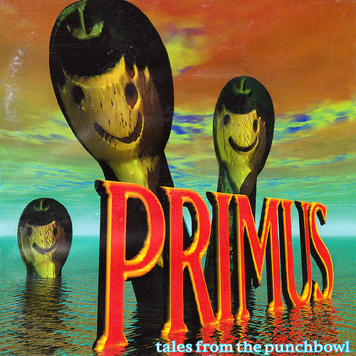 PRIMUS - Tales From the Punchbowl cover