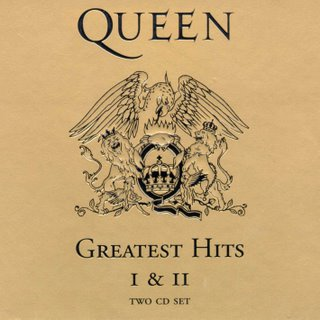 QUEEN - Greatest Hits I & II cover