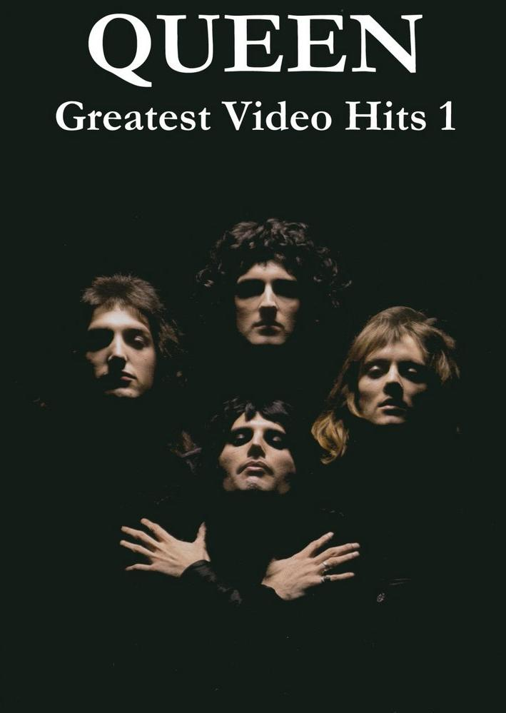 QUEEN - Greatest Video Hits 1 cover