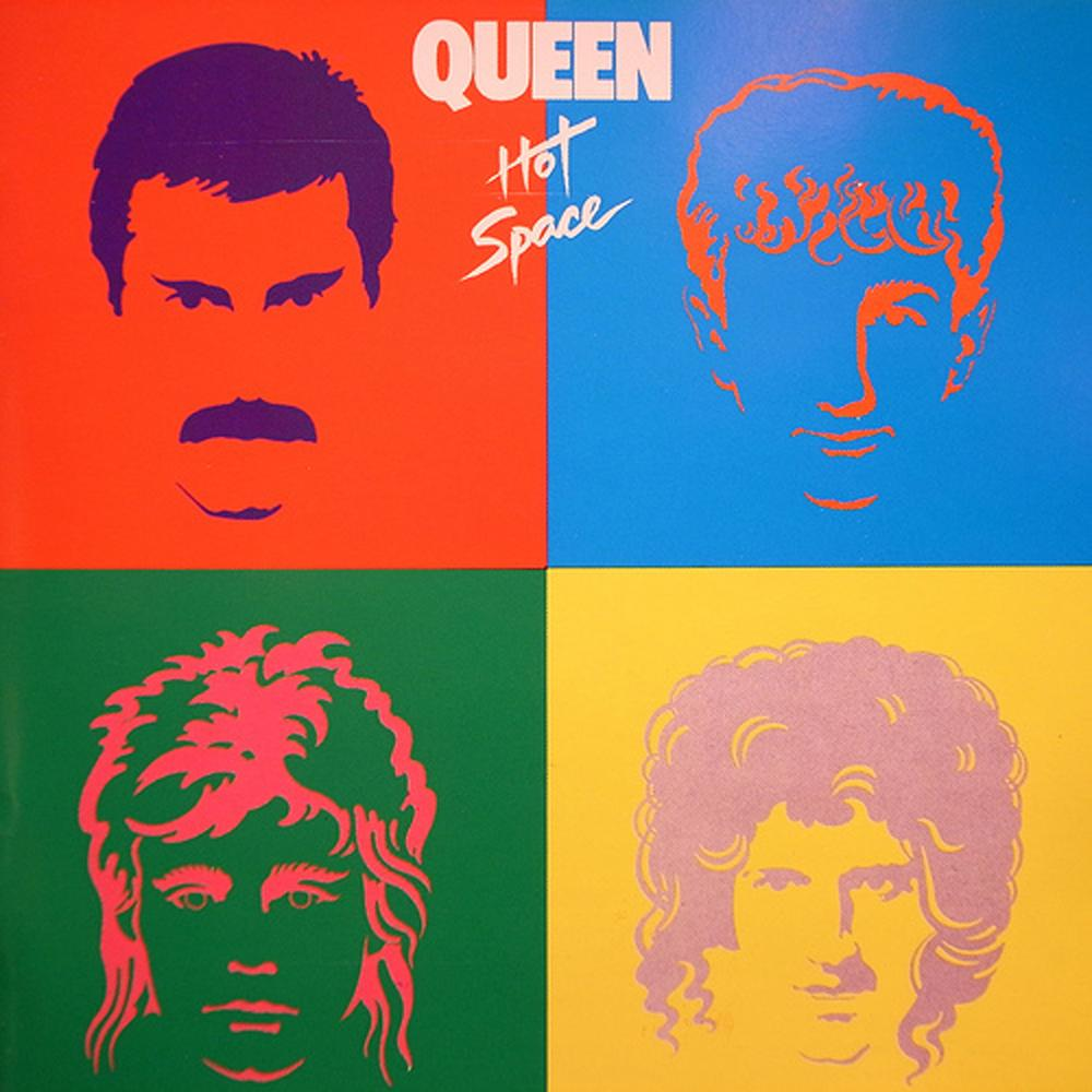 QUEEN - Hot Space cover