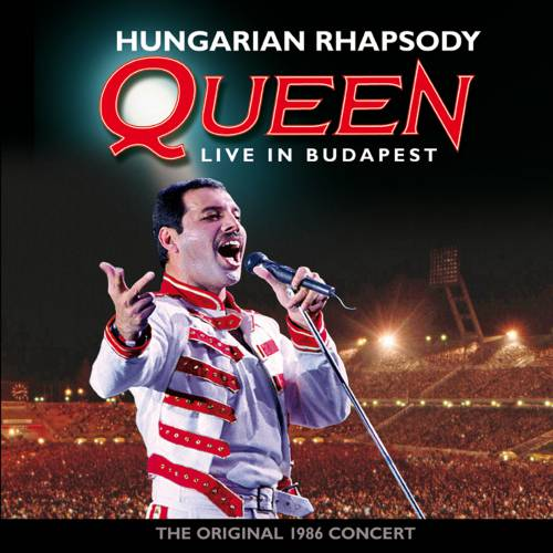 QUEEN - Hungarian Rhapsody: Queen Live In Budapest cover