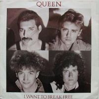 QUEEN - I Want To Break Free cover
