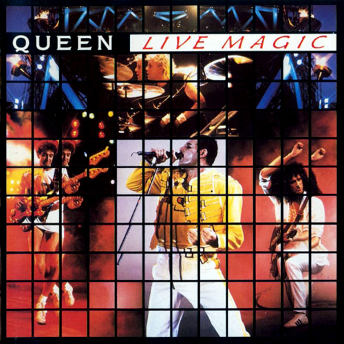 QUEEN - Live Magic cover