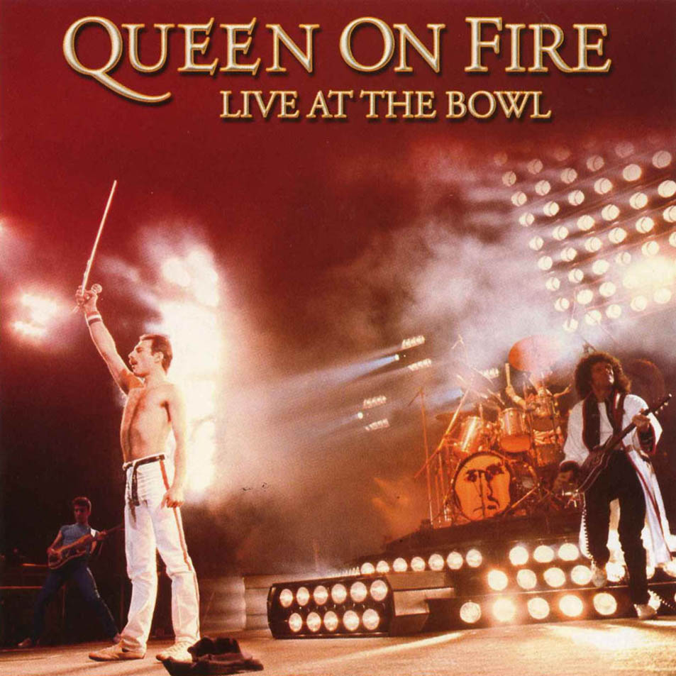 QUEEN - Queen On Fire: Live At The Bowl cover