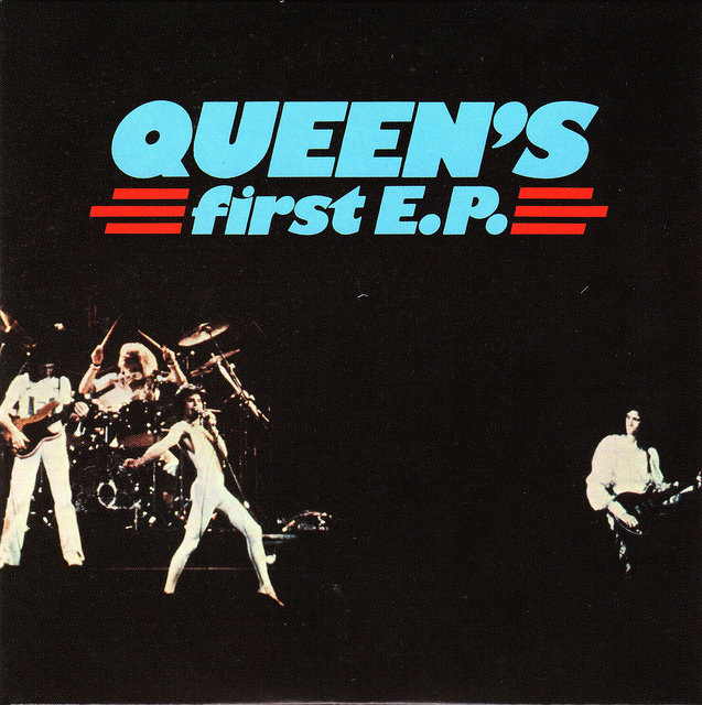 QUEEN - Queen's First EP cover