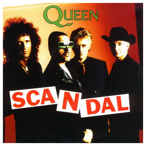 QUEEN - Scandal cover