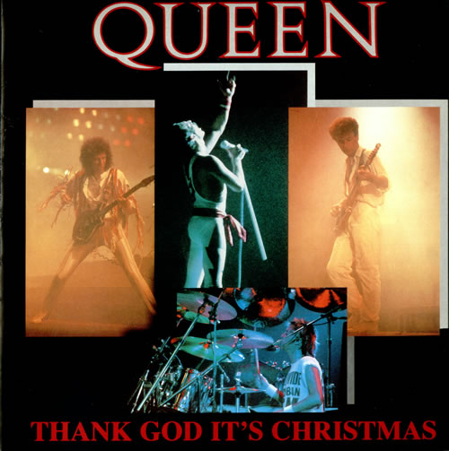 QUEEN - Thank God It's Christmas cover