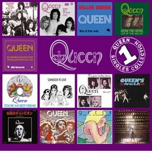 QUEEN - The Singles Collection: Volume 1 cover