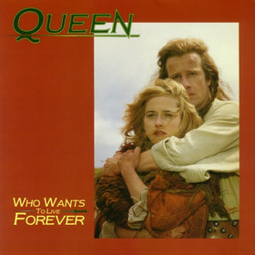QUEEN - Who Wants To Live Forever cover