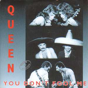 QUEEN - You Don't Fool Me cover