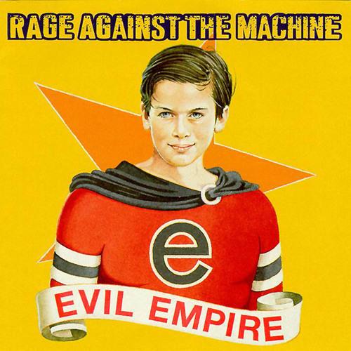 RAGE AGAINST THE MACHINE - Evil Empire cover