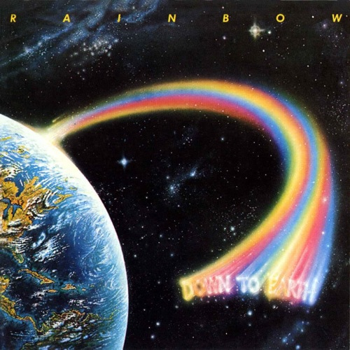 RAINBOW - Down to Earth cover