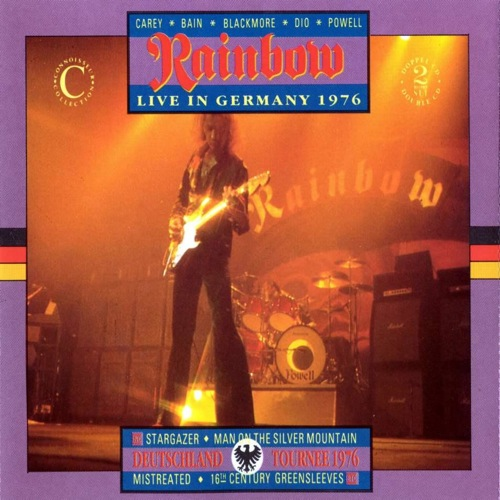 RAINBOW - Live in Germany 1976 cover