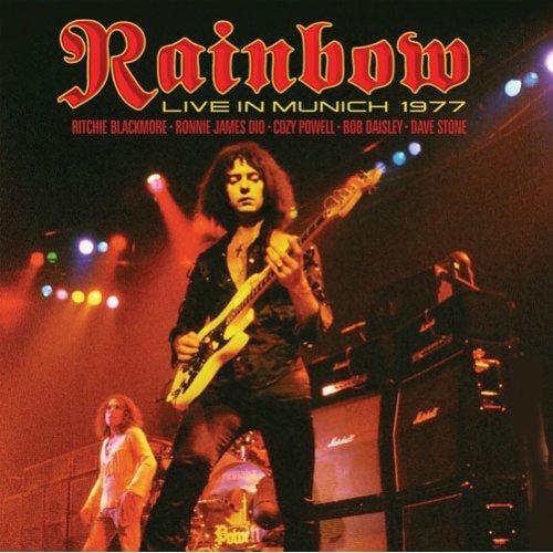 RAINBOW - Live in Munich 1977 cover