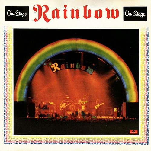 RAINBOW - On Stage cover