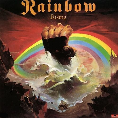 RAINBOW - Rising cover