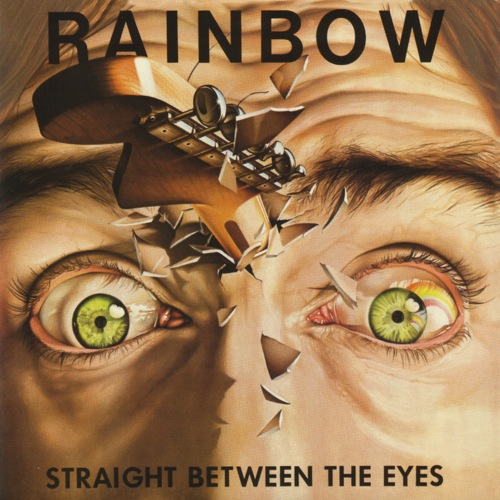 RAINBOW - Straight Between the Eyes cover