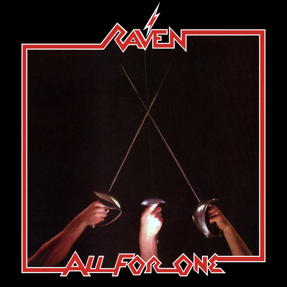 RAVEN - All for One cover