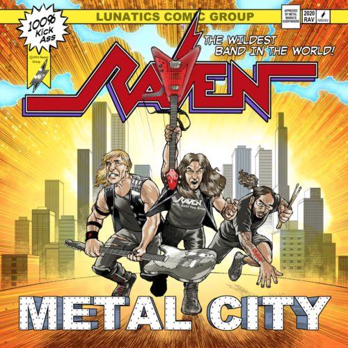 RAVEN - Metal City cover
