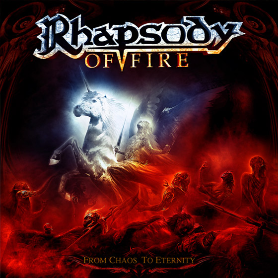 RHAPSODY OF FIRE - From Chaos To Eternity cover