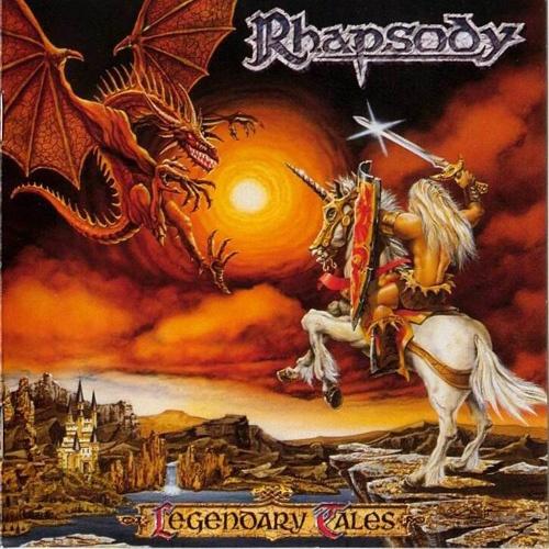 RHAPSODY OF FIRE - Legendary Tales cover