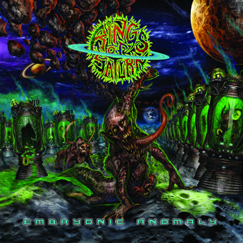 RINGS OF SATURN - Embryonic Anomaly cover
