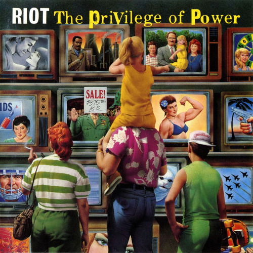 RIOT - The Privilege of Power cover